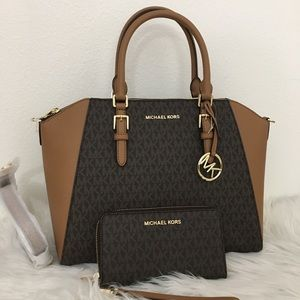 Michael kors large Ciara satchel with Wallet